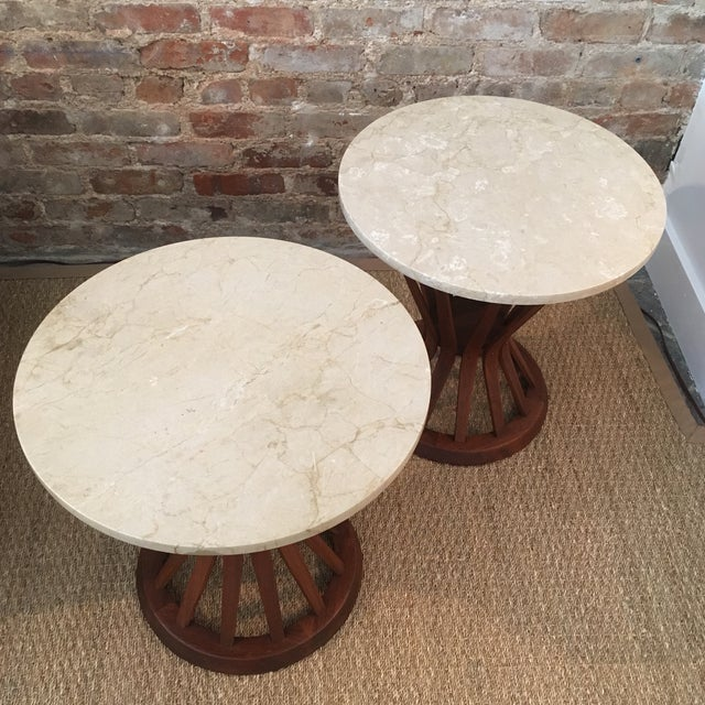 Edward Wormley Side Tables - A Pair - Image 8 of 10