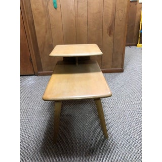 1950s Mid Century Modern 2-Tier Side Tables Preview