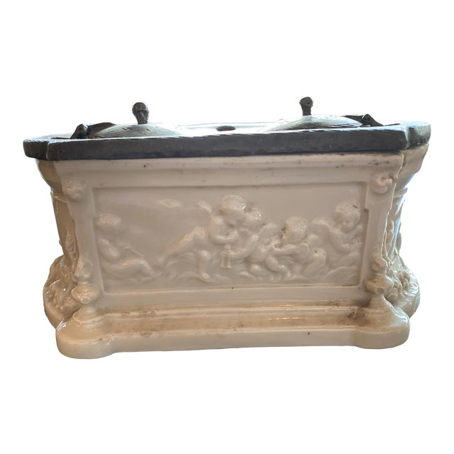 Antique 18th Century Inkwell For Sale