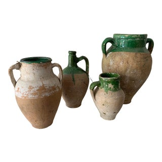 Early 20th Century French Confit Pots - Set of 4 For Sale