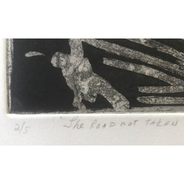 Late 20th Century 20th Century Original Signed Letterpress Print on Archival Paper by Joan Corrigan For Sale - Image 5 of 10