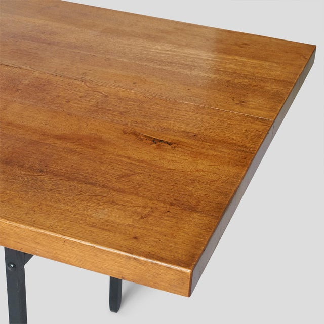 1960s Jean Touret Dining Table For Sale - Image 5 of 7