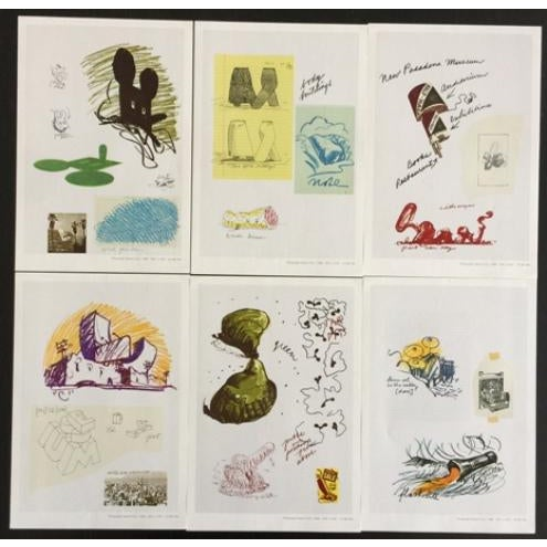 """Claes Oldenburg """"Notes"""" Complete Collection - Set of 12 - Image 2 of 10"""