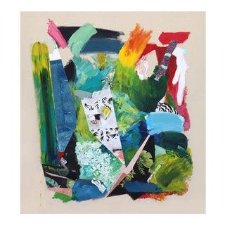 """Artist Palette / Jungle"" Original Artwork by Brandon Neher For Sale"
