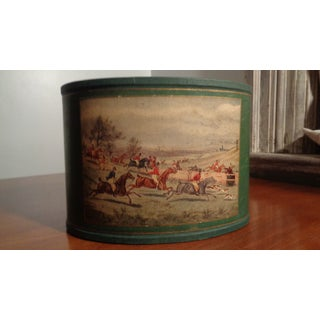 Mid-Century Horse Print Desk Basket Preview