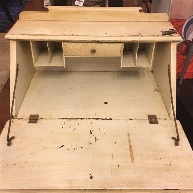 Vintage Shabby Chic Secretary Desk - Image 5 of 11