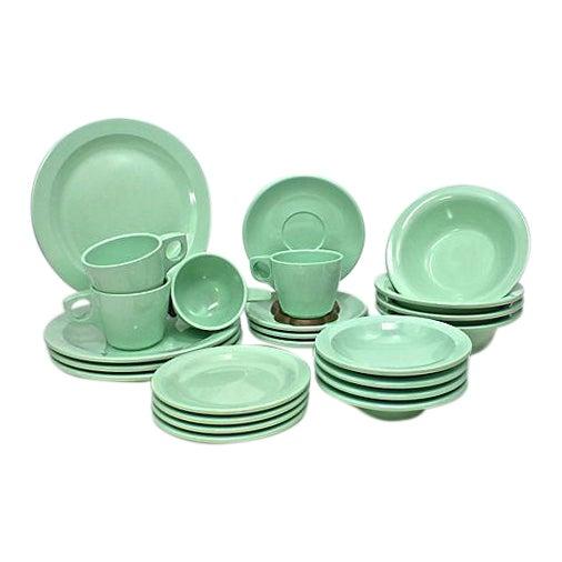 Vintage Boontonware Dinnerware - Set of 4 For Sale