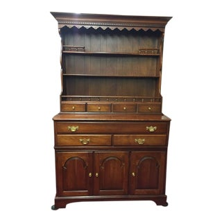 Pennsylvania House Cherry Hutch Cabinet For Sale
