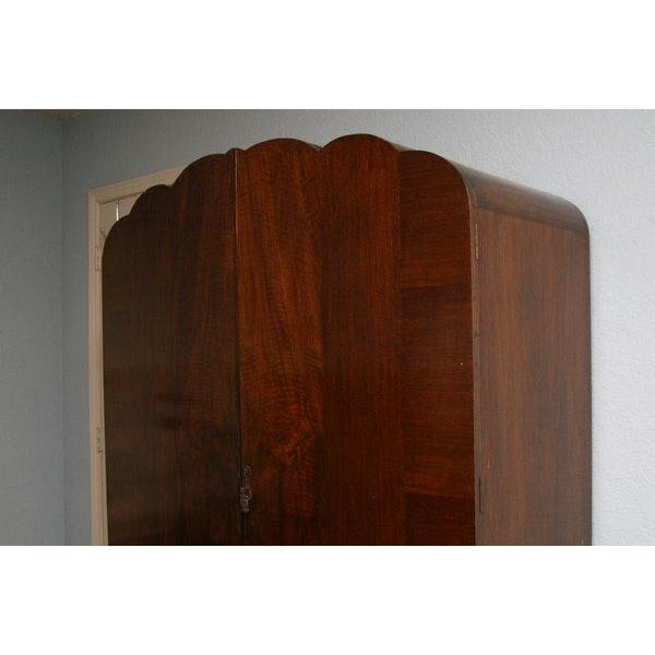 Vintage Wooden Armoire - Image 3 of 11