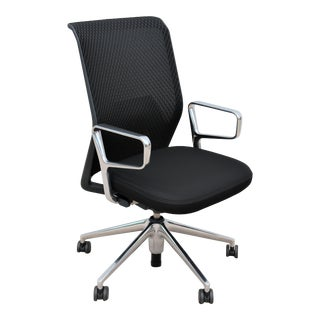 Modern Antonio Citterio for Vitra Ergonomic Id Mesh Black Office Desk Chair For Sale