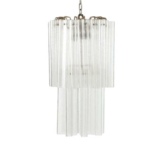 Pair of Large Mid-Century Modern Venetian / Murano Glass Sconces by Venini