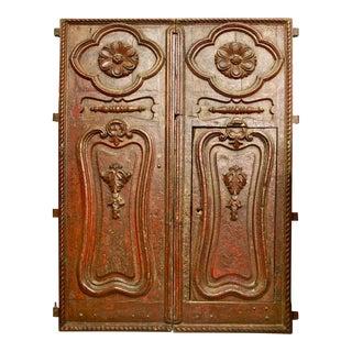 Peruvian Baroque Villa Doors - A Pair