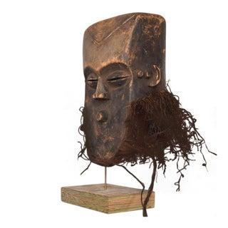 Vintage Lega Mask Bearded Bwami Society For Sale