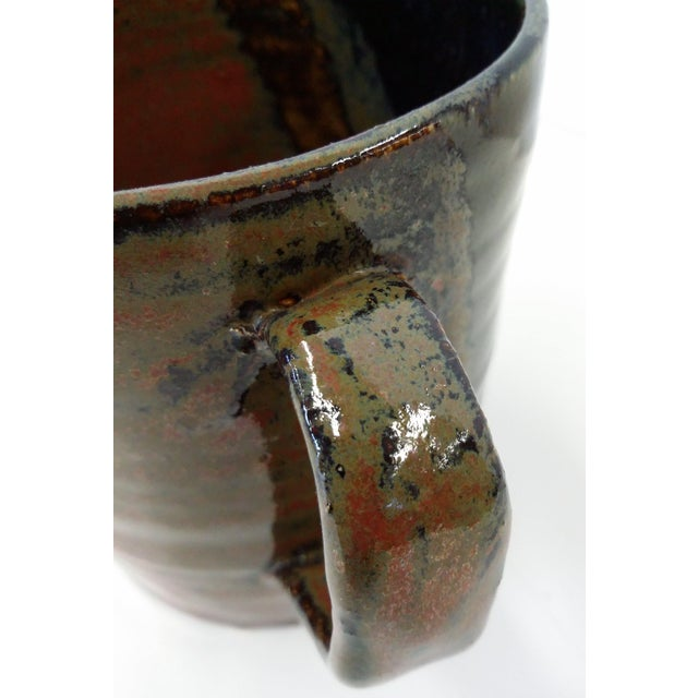 Hand-Thrown Artisan Shaving Mug For Sale - Image 7 of 7