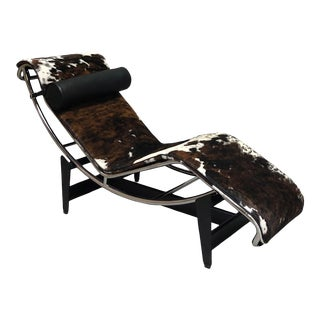 Modern Lc4 Chaise Lounge Chair For Sale