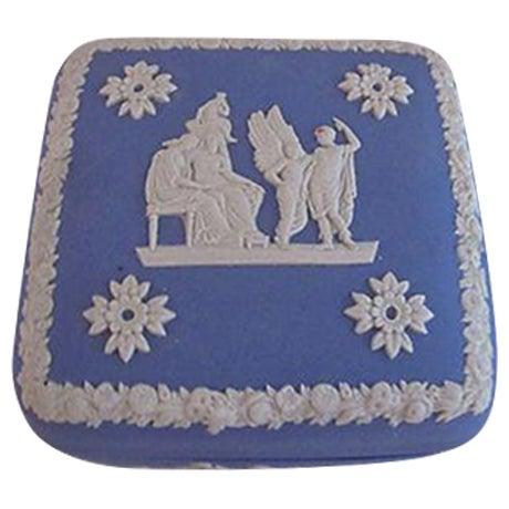Wedgwood Jasperware Trinket Box - Image 1 of 5