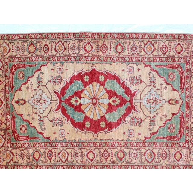 """Kazak Wool Rug - 4'1"""" x 6'6"""" - Image 5 of 7"""