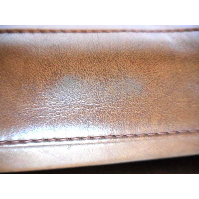 Danish Leather Sofa by Poul Volther For Sale - Image 5 of 9