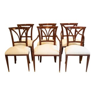 Baker Dining Chairs - Set of 6 For Sale