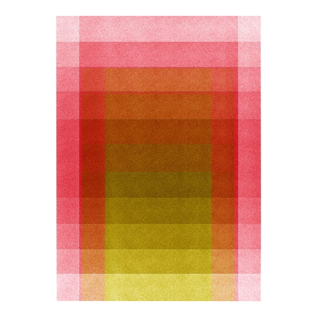 Jessica Poundstone Pink & Acid Yellow [Color Space Series] Print - Image 1 of 3