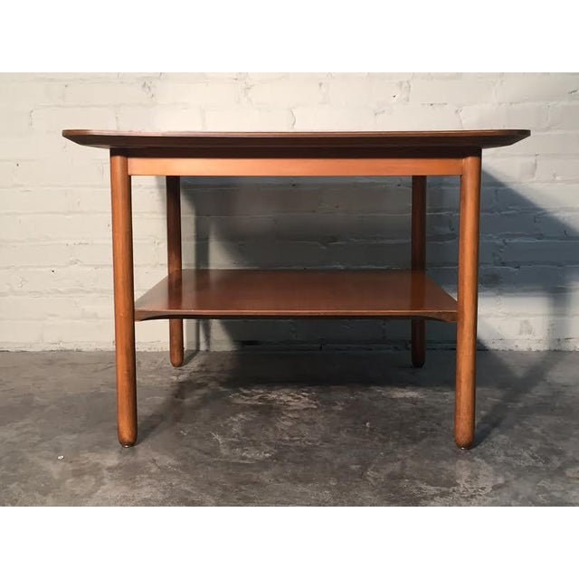 Mid-Century Modern Corner End Table - Image 5 of 10