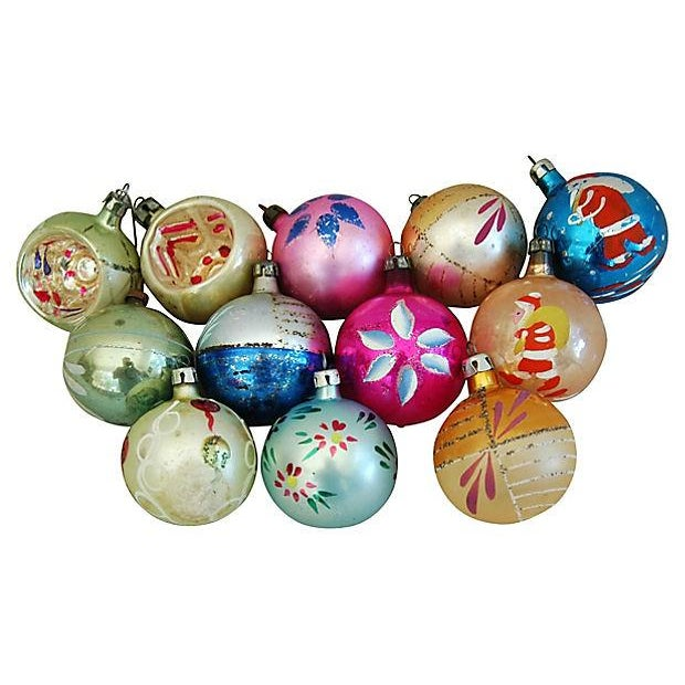 1960s Christmas Ornaments with Box - Set of 12 - Image 8 of 8