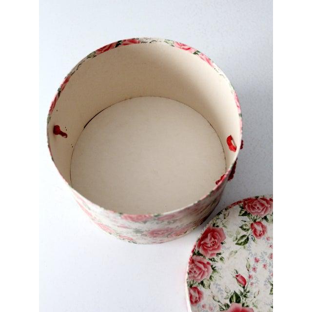 Vintage Floral Hat Box - Image 8 of 8