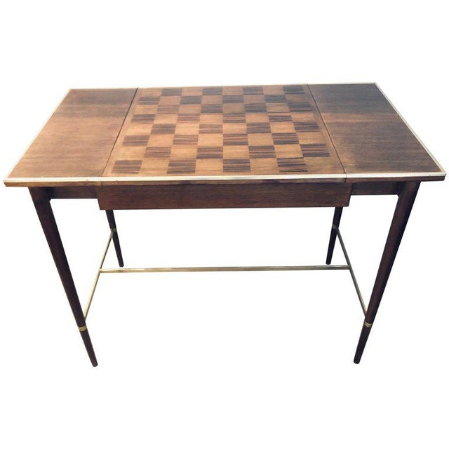 "MCM Game / Card Table ""The Paul McCobb Connoisseur Collection"" Fully Refinished For Sale - Image 13 of 13"