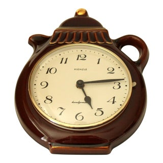 1980s Vintage Kitchen Wall Clock For Sale