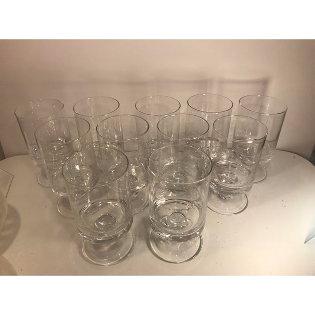 Waterford Rotondo Crystal Water Glass Goblets - Set of 11 For Sale In Sacramento - Image 6 of 7