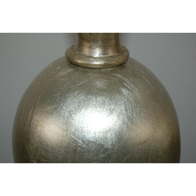 Plaster Table Lamps by Swank Champagne For Sale In Little Rock - Image 6 of 9