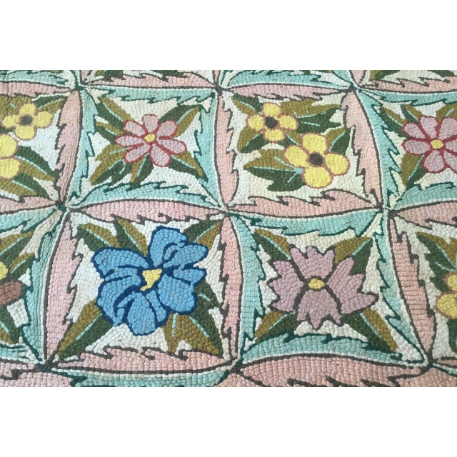 Textile Treasure Chest Mutual Hand-Hooked Rug - 9' x 12' For Sale - Image 7 of 11