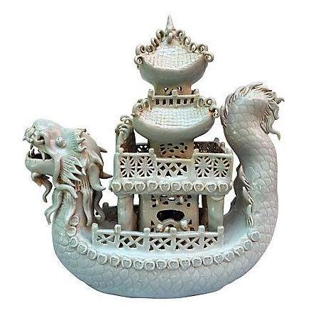 Celadon Pagoda Ship - Image 1 of 6