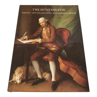 """""""The Huntington"""" 1986 First Edition Art & Garden Book For Sale"""