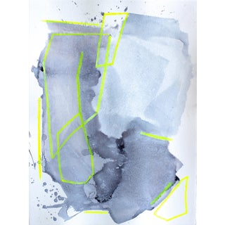 """Lumineer II"" Abstract Acrylic Painting"