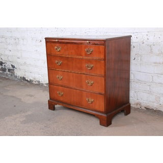 Baker Furniture Georgian Mahogany Four-Drawer Bachelor Chest or Commode Preview