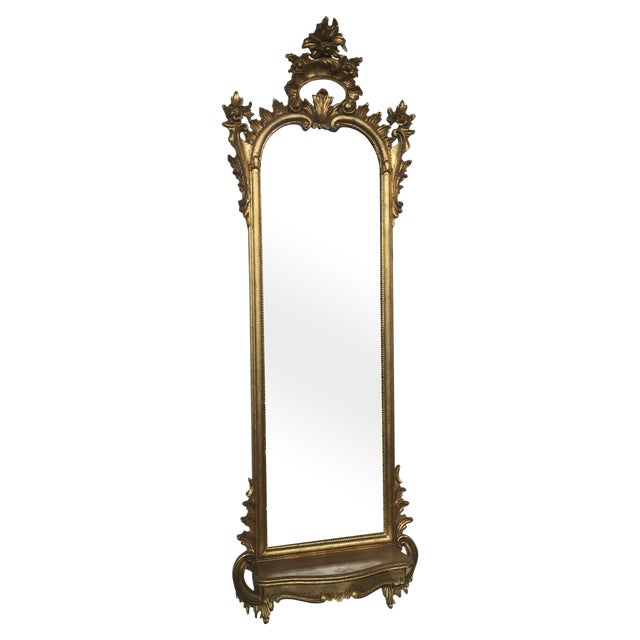 Italian Rococo Gilt Tall Mirror by La Barge - Image 1 of 10