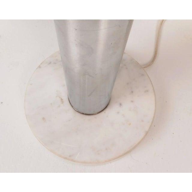 Mid-Century Modern Chrome Orb Swivel Floor Lamp - Image 4 of 5