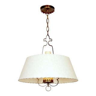 Alfred Muller Ceiling Lamp, Switzerland, 1940s For Sale