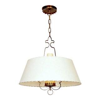 Alfred Muller Ceiling Lamp, Switzerland, 1940s