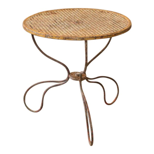 French Garden Table For Sale