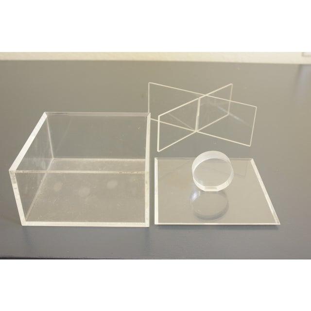 Lucite Decorative Box - Image 6 of 8