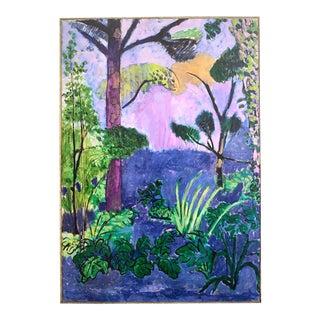 "Henri Matisse Lithograph Print Sweden Museum Fauvism Poster "" Moroccan Landscape "" 1912 For Sale"