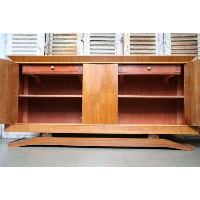 French 1940s Mahogany Sideboard - Image 5 of 11