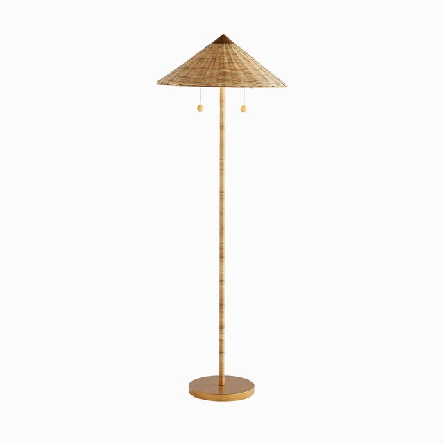 Not Yet Made - Made To Order Celerie Kemble for Arteriors Terrace Floor Lamp For Sale - Image 5 of 5