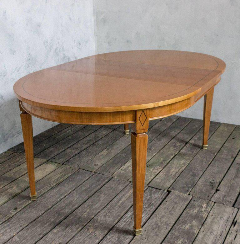 French 1940s Oval Dining Table   Image 8 Of 11