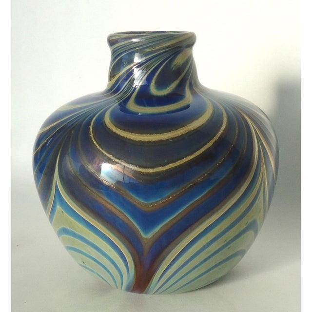 Vintage Studio Glass Vase - Image 3 of 7