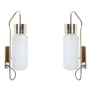 Italian Luigi Caccia Dominioni Sconces - a Pair For Sale