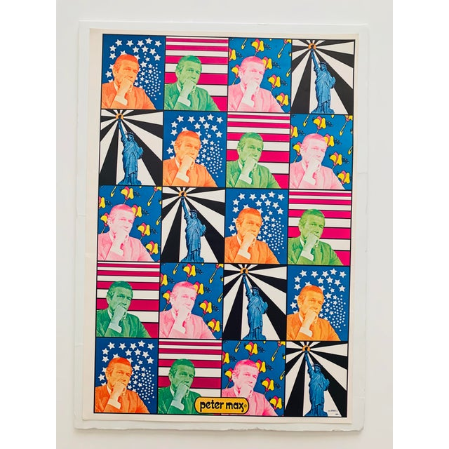 Peter Max Iconic New York City Images Print For Sale - Image 10 of 10