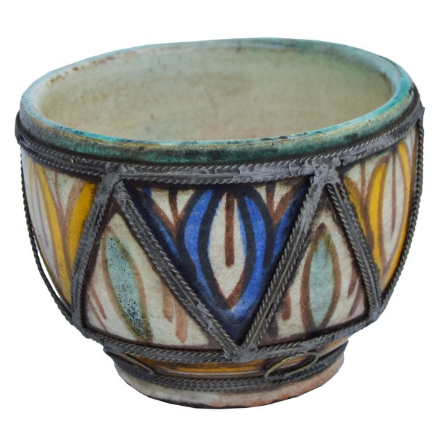Early 20th Century Antique Moroccan Box For Sale - Image 5 of 6